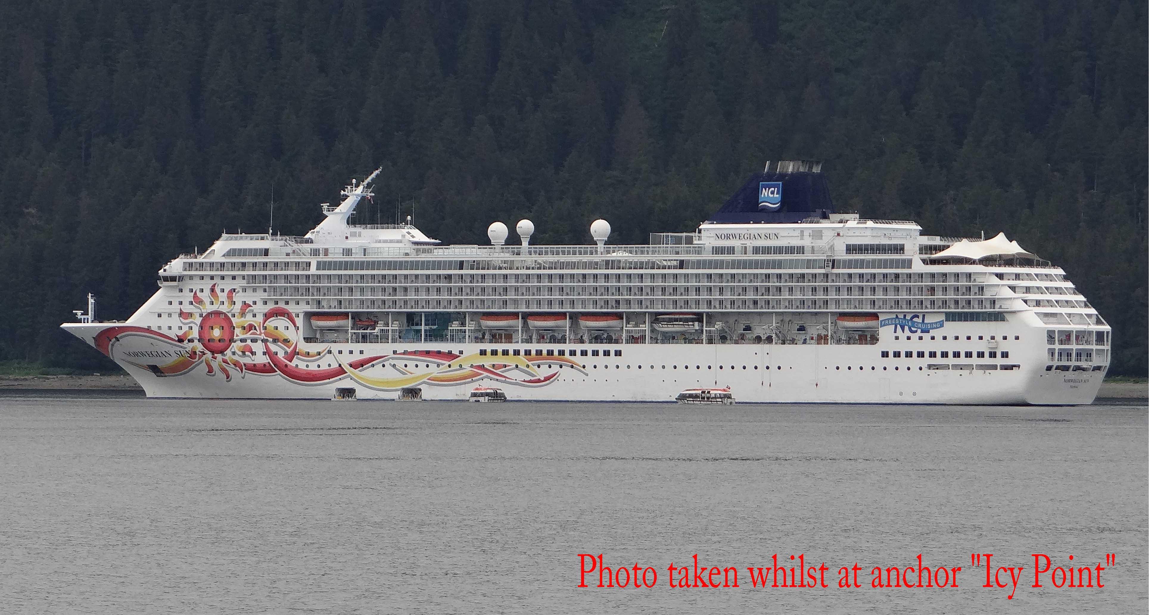 Bert Rowes Aclass Info Cruise Ship Norwegian Sun Alaska - How much do cruise ships make