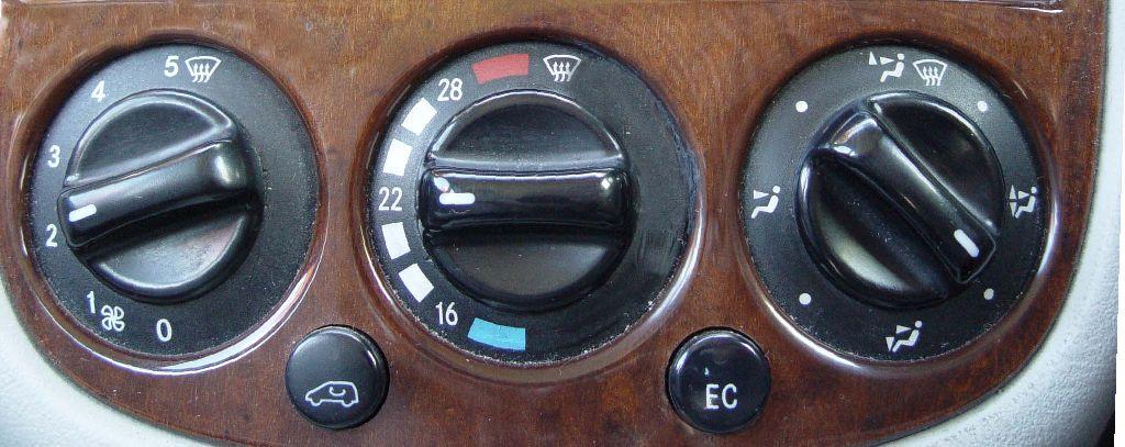 Bert Rowe's-mercedes-Benz 'A'-class info  Heater Blower/Fan
