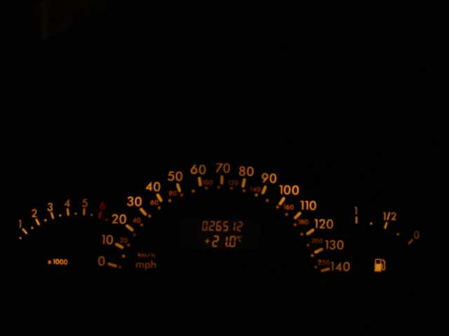 mercedes dashboard warnings