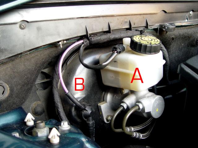 Bert Rowe's-Mercedes-Benz 'A'-class info  Brake Servo, Foot Brake