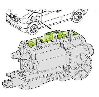 Bert Rowe's-mercedes-Benz 'A'-class info  Components Parts