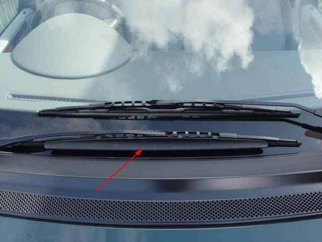 Bert Rowe\'s-mercedes-Benz \'A\'-class information. Windscreen wipers ...