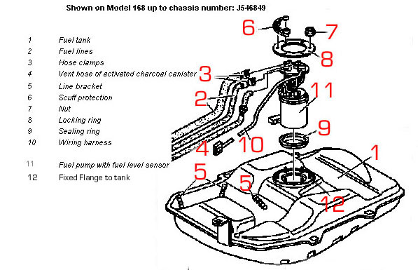 2001 ford ranger fuel tanks diagram