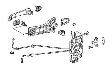 Diagram Of Inner Door Panel additionally Gm Rub Strip 10156794 additionally Solved Need The Vacuum Diagram For The 1978 425 Efi Fixya additionally  on 59 chevy truck heater core