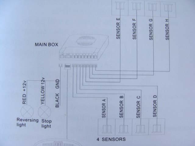 parking sensor wiring diagram