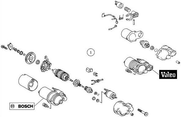 Bert Rowe's-Mercedes-Benz 'A'-class info  Starter Motor