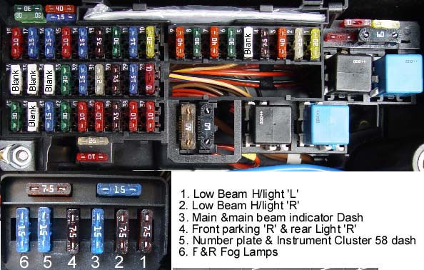 v.l fuse box layout bert rowe's a class info battery compartment, fuses & relays c240 fuse box at eliteediting.co