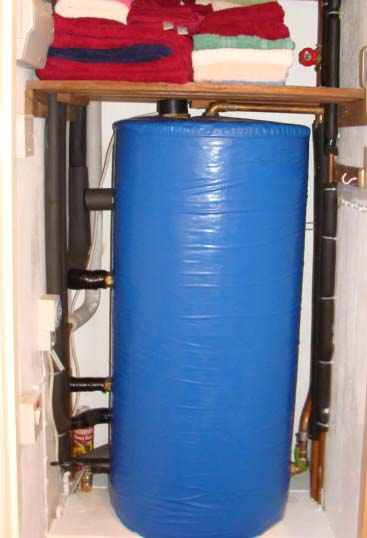 Lofty\'s Homepage \'Solar Domestic Hot Water Heating System\'. Hot ...
